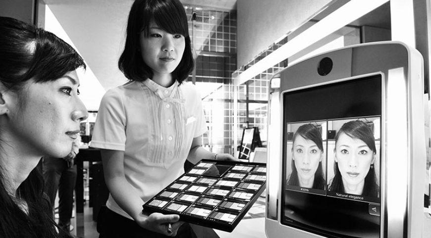 کاربرد آینههای هوشمند در سالنهای زیبایی